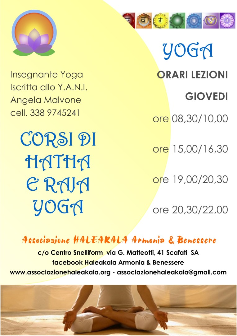 Locandina Yoga Ottobre 2017