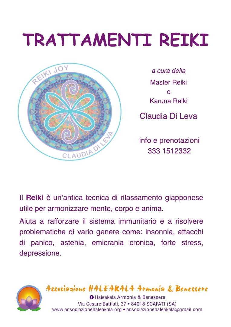 Locandina Reiki Claudia Di Leva 2